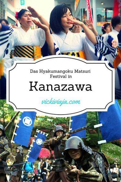 In Kanazawa gibt es viel zu sehen. Wie z.B. den alten Samuraidistrikt, den Geishadistrikt und das Schloss von Kanazawa, so wie Schlossgarten- und Park.
