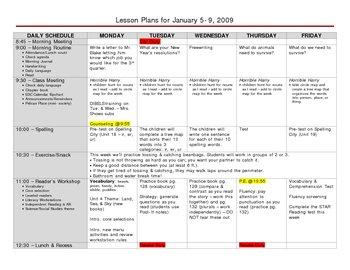 Versatile Elementary Grade Lesson Plan Template | Lesson plan ...
