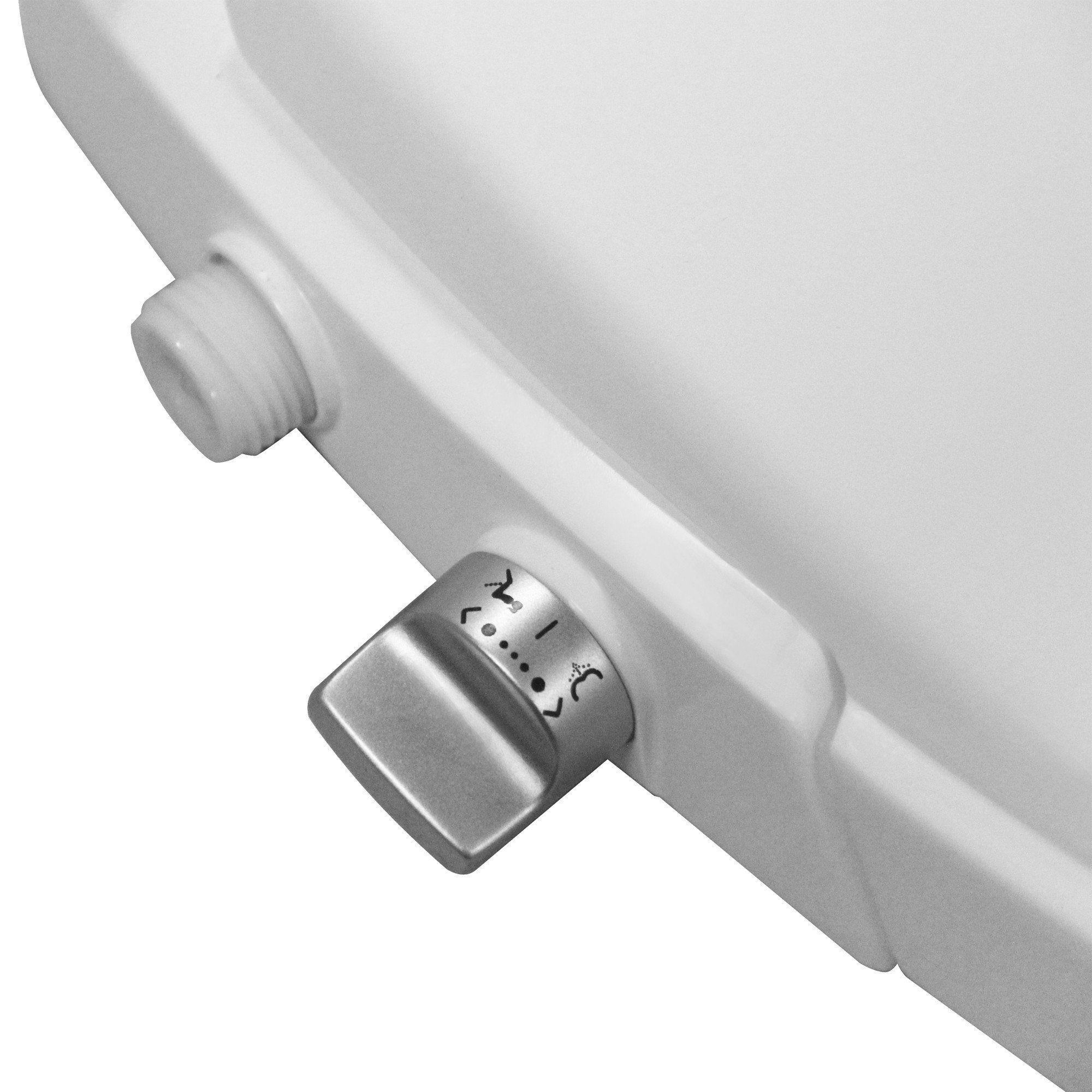 Bidet + Toilet Seat Combo Soft Close elongated Toilet Seat