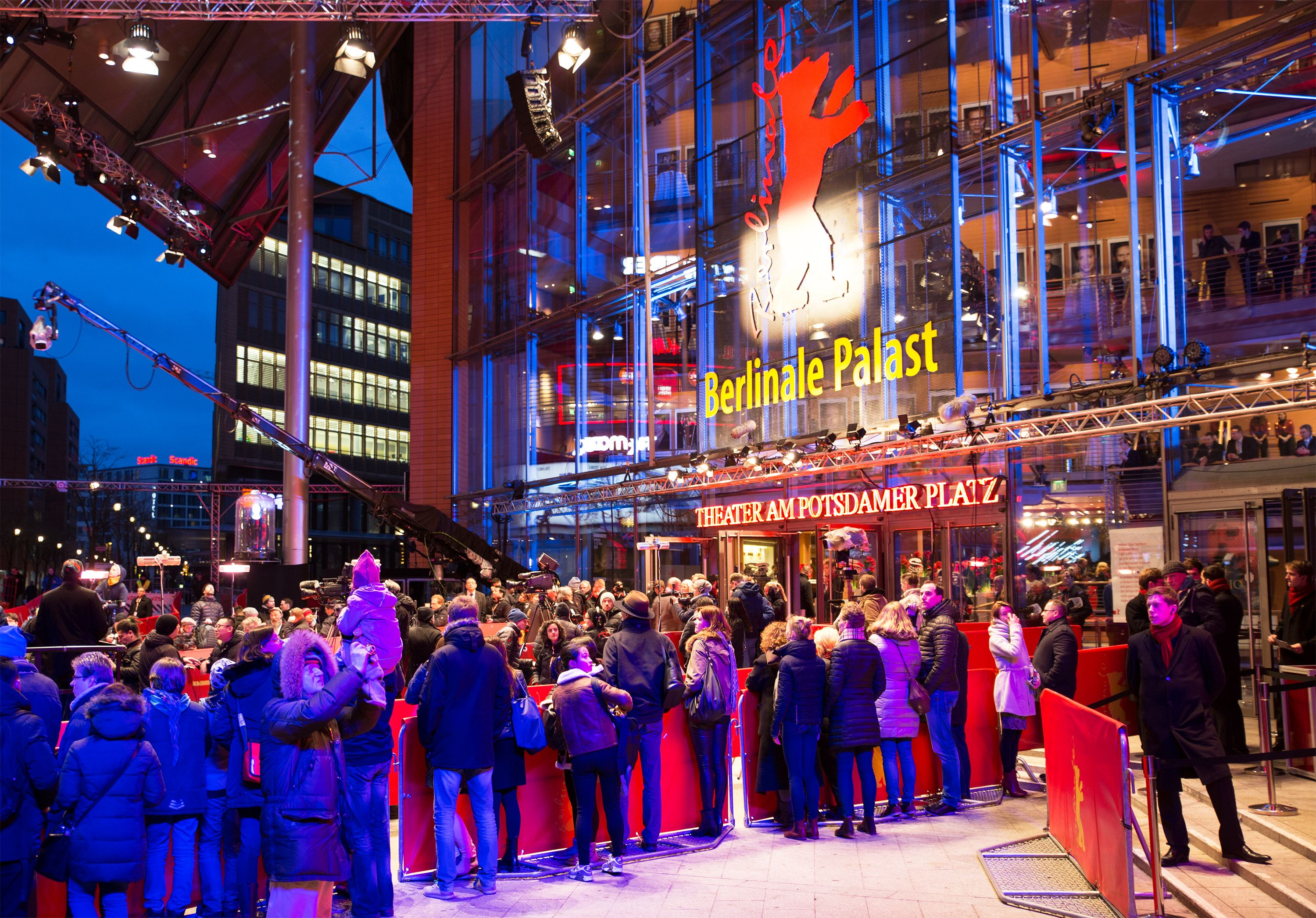 We supported the 66th Berlinale with radio technology