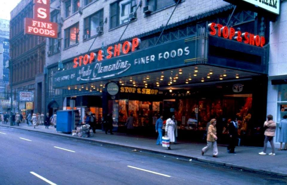 The Old Stop Shop Was On West Washington Street In Chicago Il