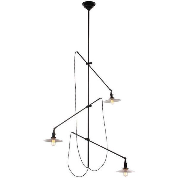 Articulated Industrial Light Fixture By O C White 19 020