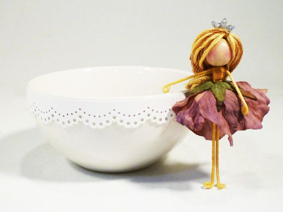 waldorf fairy purple
