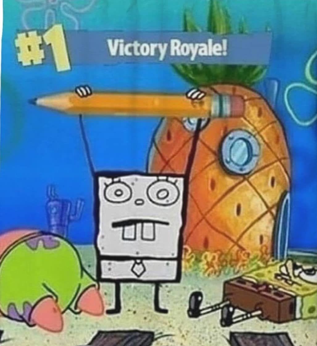 Spongebob memes spongebobmemes victoryroyale fortnite