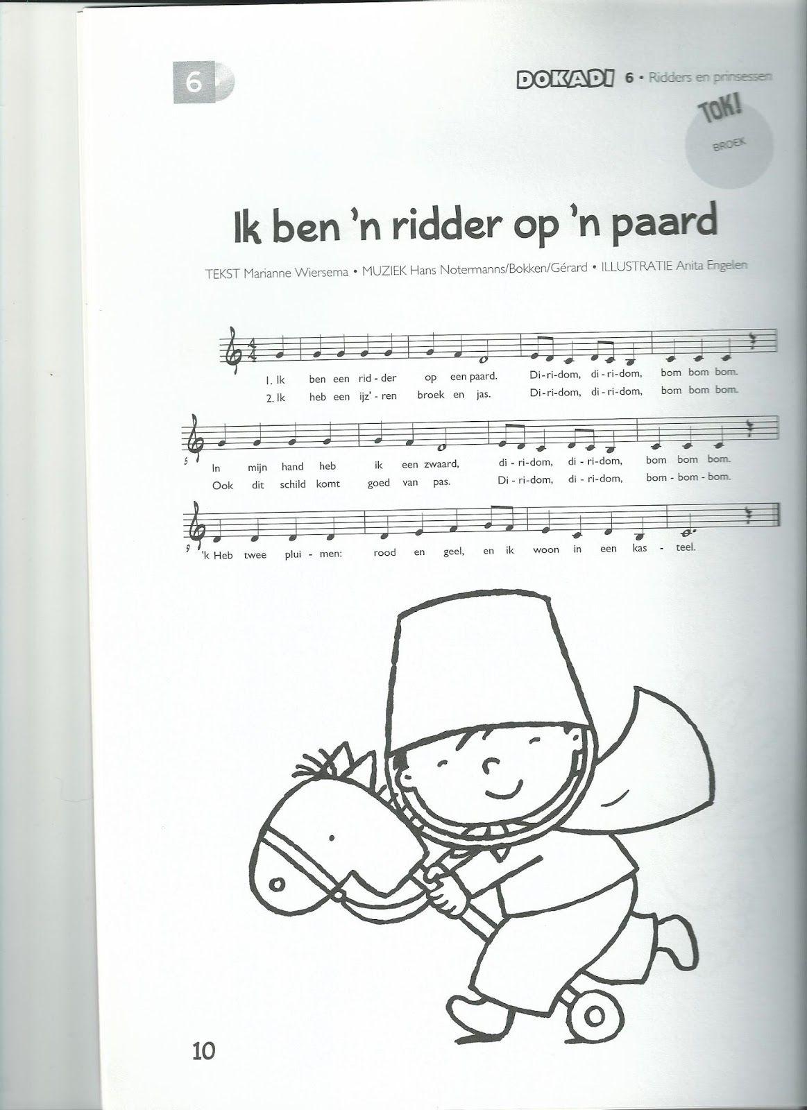 Afbeeldingsresultaat voor lied dokadi de ridder
