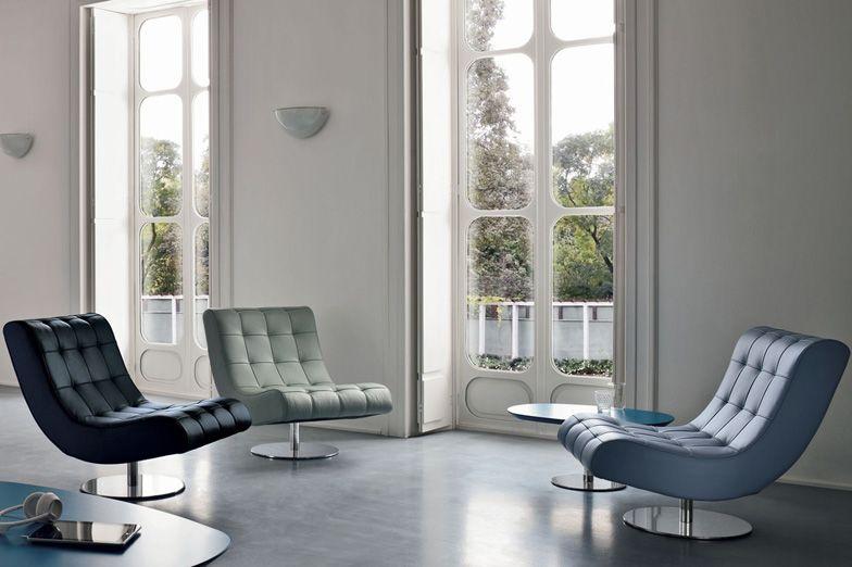 Fauteuil virgola- Dall Agnese , salon, confort, design, décoration d ...