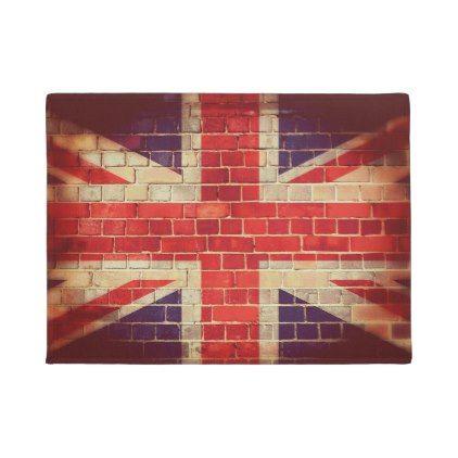 Shop Vintage UK flag Doormat created by sakiphotos.  sc 1 st  Pinterest & Vintage UK flag Doormat - #doormats #home \u0026 #living | doormats ...