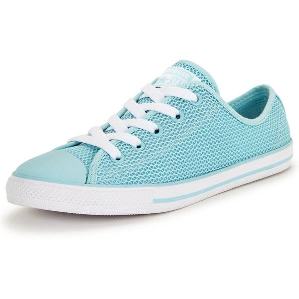 Converse Dainty Spring Mesh Ox Trainer (240 PEN) ❤ liked on Polyvore  featuring shoes