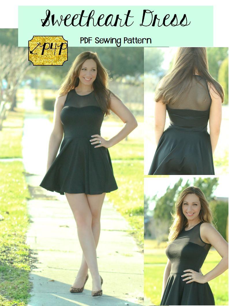 Sweetheart Dress Sweetheart Dress Pattern Sweetheart Dress
