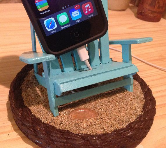 Beach Style Smartphone Stand for iPhone Galaxy от treehouseoasis