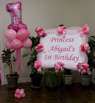 Princess Birthday Balloon Decor Tulsa OK Olivia Pinterest