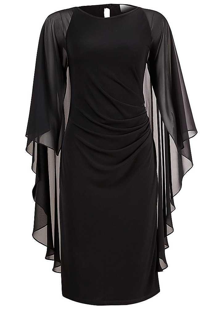 Kaliko Angel Sleeve Dress