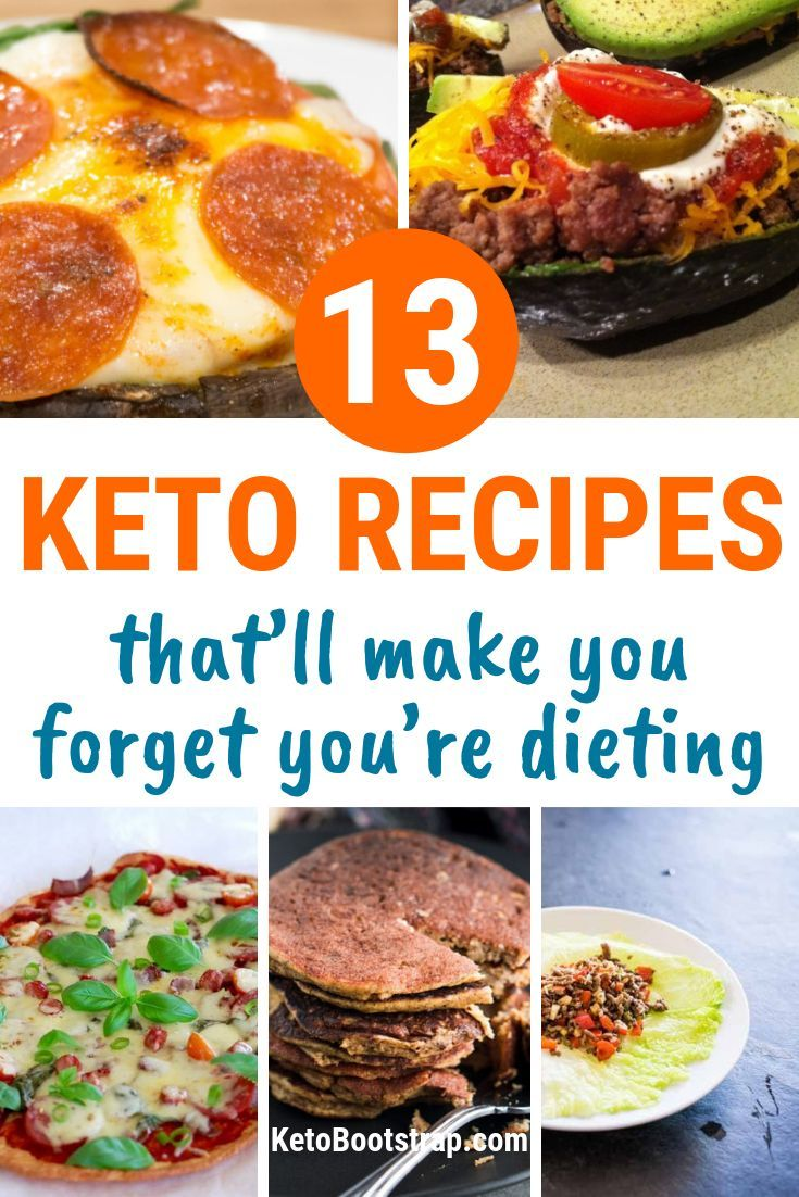 Easy Keto Recipes: 13 Easy & Delicious Ketogenic Recipes images