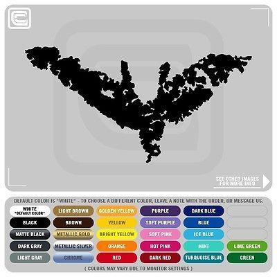 Batman Dark Knight Rise Chalk Symbol Decals Stickers Batman Villain