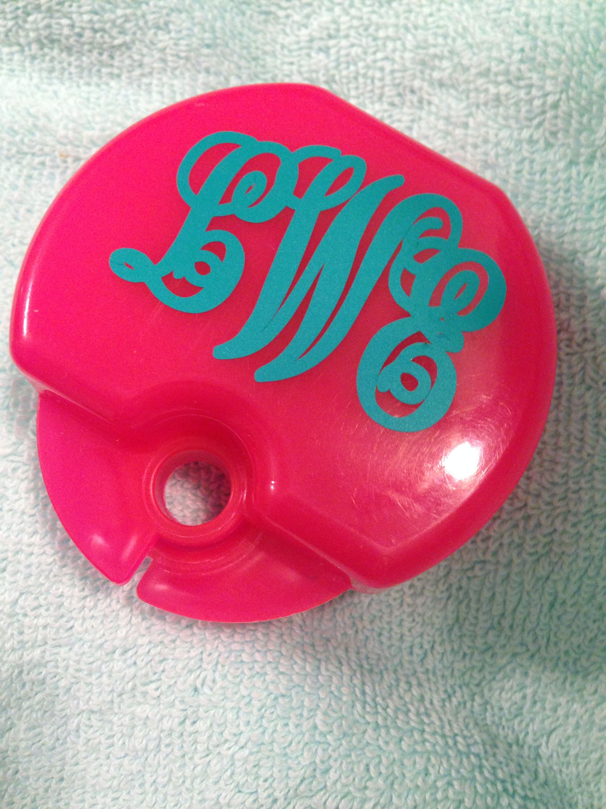Make your retainer case unique by styling it with a monogram ...