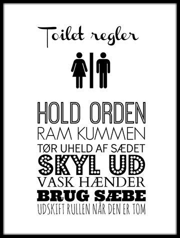 Toilet Graffiti Plakat Poster Pa Europosters Dk