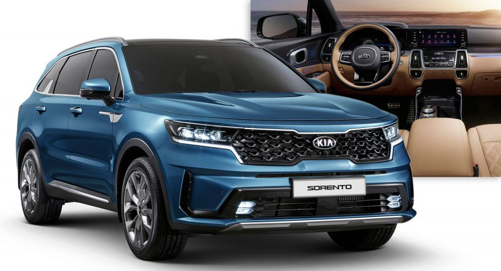 2021 Kia Sorento Engines Specs Revealed Before Geneva Motor Show