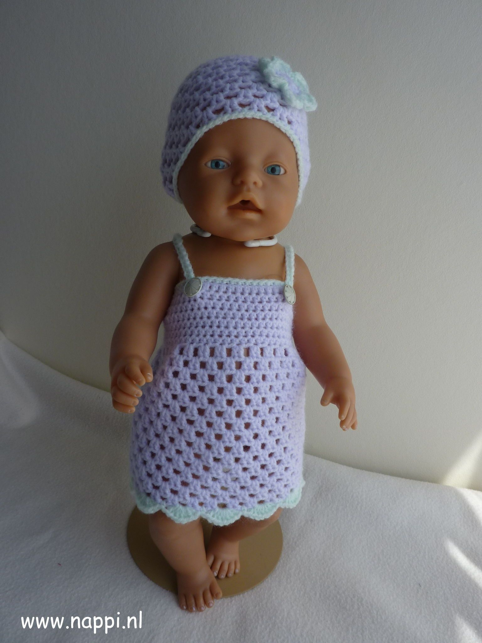 Zomerkleding / Baby Born 43 cm | Nappi.nl patroon Riannes haaksels ...
