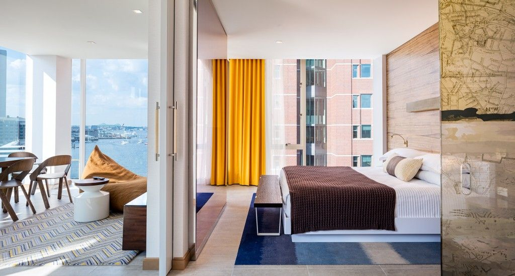 Luxury Suite The Envoy Hotel Autograph Collection By Marriott
