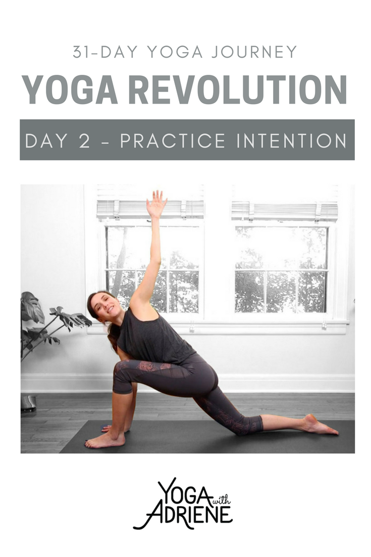 Revolution Yoga Series Day 2 Today I Invite You To Focus On What It Feels Like To Move With Breath And I With Images Yoga With Adriene Yoga Everyday Pilates Motivation