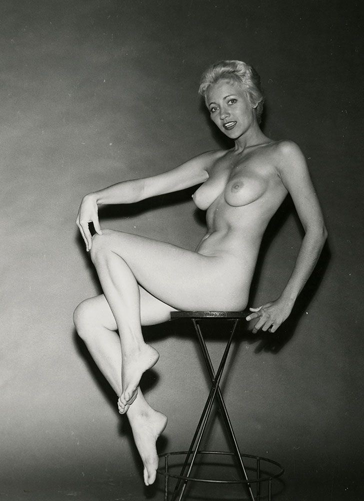 Mouse Over Image To Zoom Vintage-1950S-Nude-Pin-Up -6109