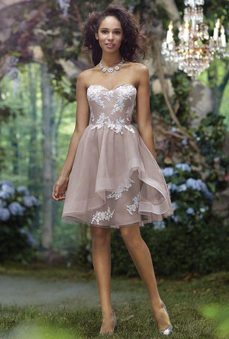 a22725f3ef2 Disney Fairy Tale Weddings by Alfred Angelo - 519 - Bridesmaid Dress ...