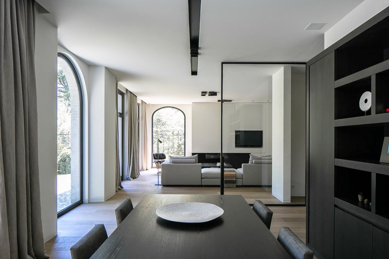 Landelijke villa met modern interieur binnenkijken for Interieur villa moderne