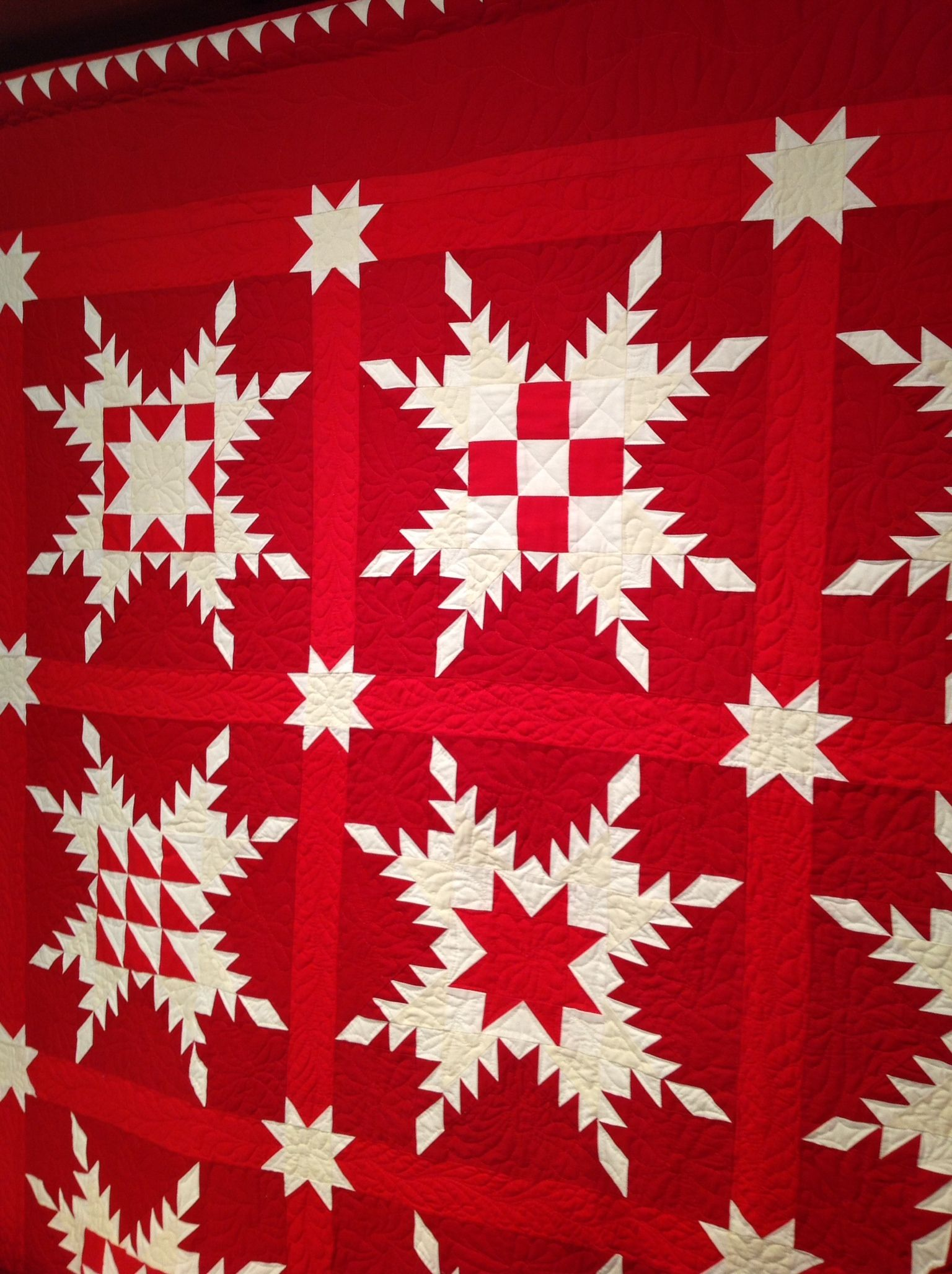 Maxine's Star of Chamblee Quilt by Marsha McClosky.