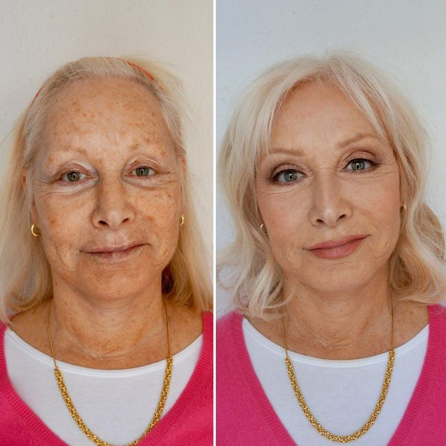 This Makeup Artist Made Her Mom Look 10 Years Younger and Reddit Is Obsessed -   14 hair Women makeup ideas