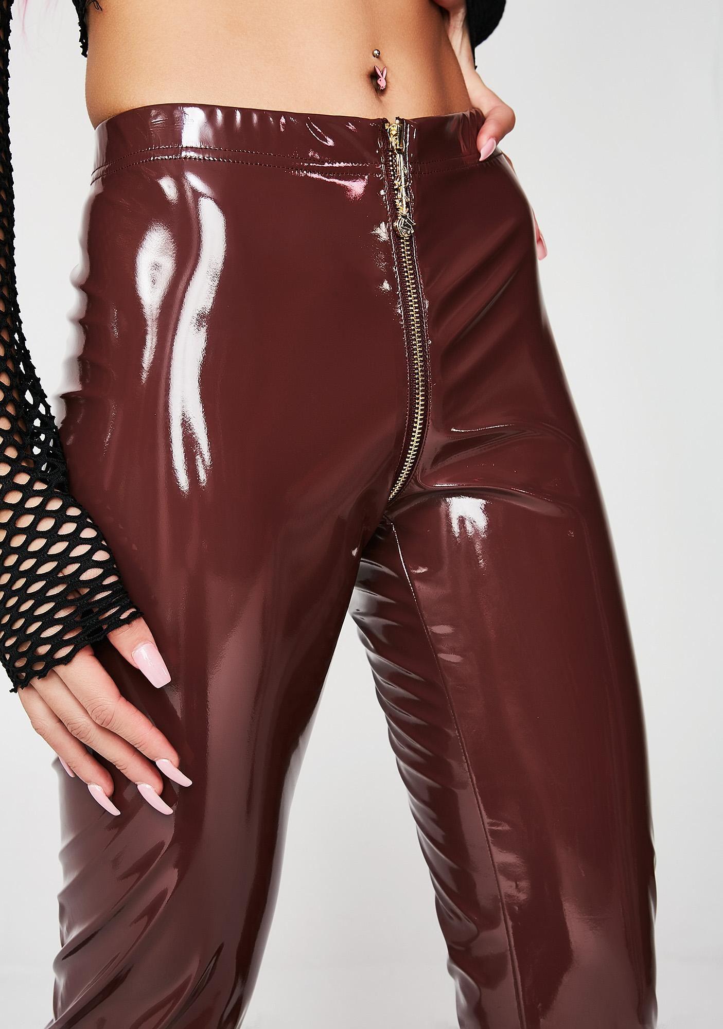 2f63449cfcd08 Got Em' Beggin' PVC Leggings in 2019 | Leather pants | Pvc leggings ...