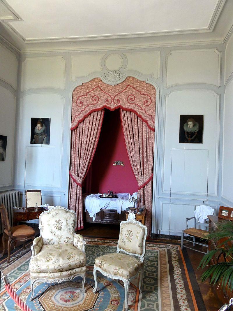 Val d 39 oise chaussy domaine de villarceaux chambre villarceaux chambre maison - Chambre des notaires val d oise ...