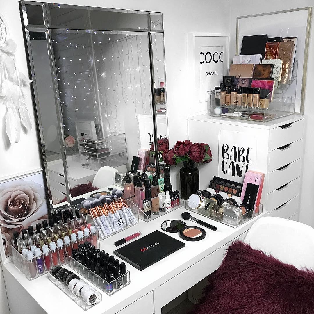 Best 8 Brilliant Makeup Organizer Storage Ideas For Girls 640 x 480