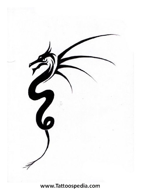 Dragon Tattoo Easy 2 Tattoospedia Easy Tattoos To Draw Dragon Tattoo Simple Henna Tattoo Designs Simple