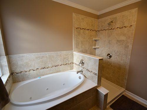 Bathroom Remodel Value cool tile pattern. great resale value. don't move! remodel your