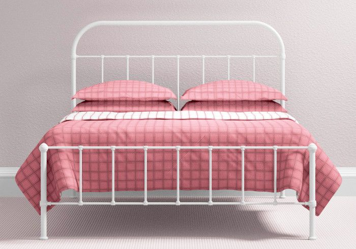 2e09196c5523 OBC Edwardian 2ft 6 Small Single Satin Black Metal Bed Frame By Original  Bedstead Company