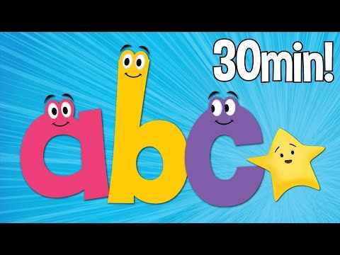 Learn the alphabet with this collection of lowercase ABC and