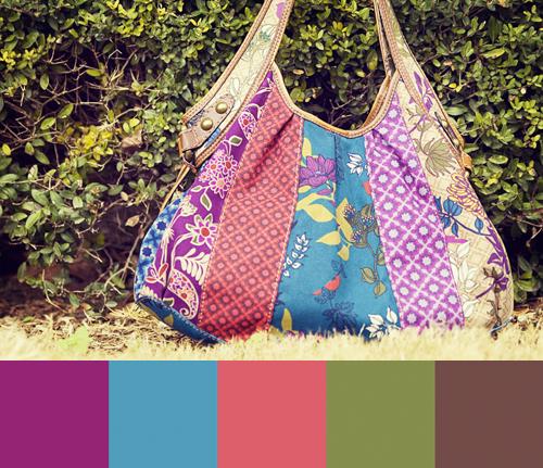 Bohemian Paint Colors: Color Schemes - Bohemian / Gypsy