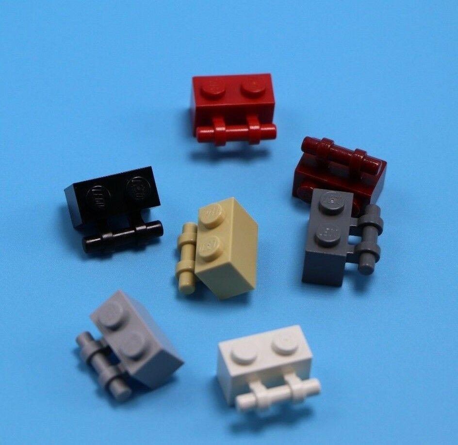 1x1 Light Gray Brick w// Vertical Connector ~ Lego  ~ NEW ~ 8