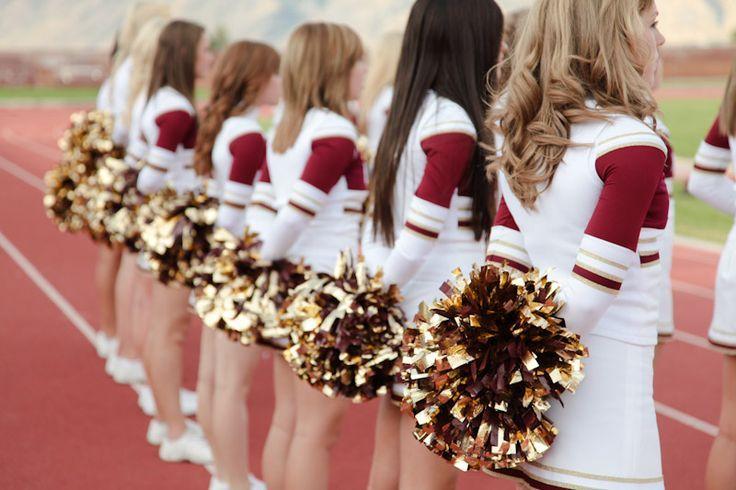 Cheerleader group portraits utah portrait photographer