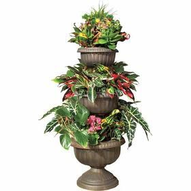Check Out This Week S Honest To Goodness Savings From Aldi On Gardenline 3 Tier Planter Tiered Planter Planters Garden Containers
