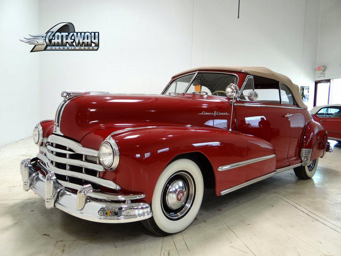 1948 Pontiac Silver Streak Convertible For Sale