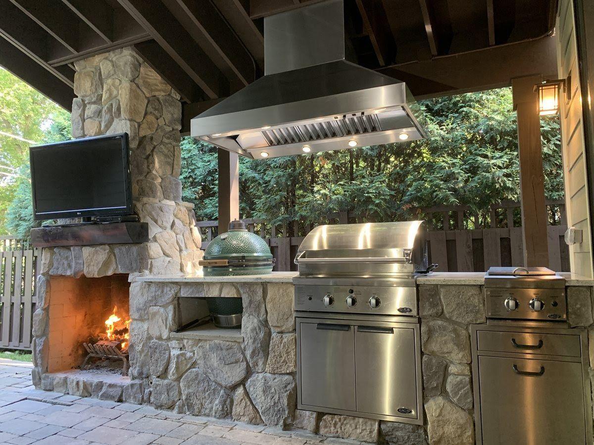 5 Outdoor Range Hood Installation Tips In 2020 Backyard Kitchen Kitchen Hoods Kitchen Range Hood