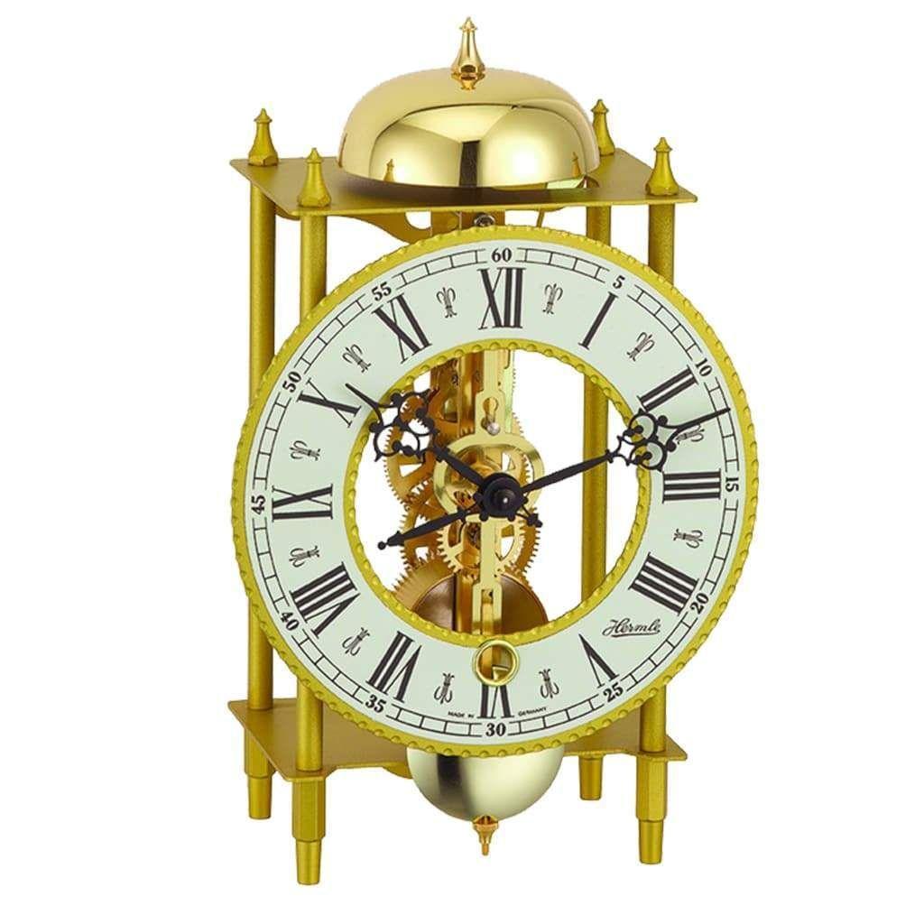 Skeleton mantel clocks for sale