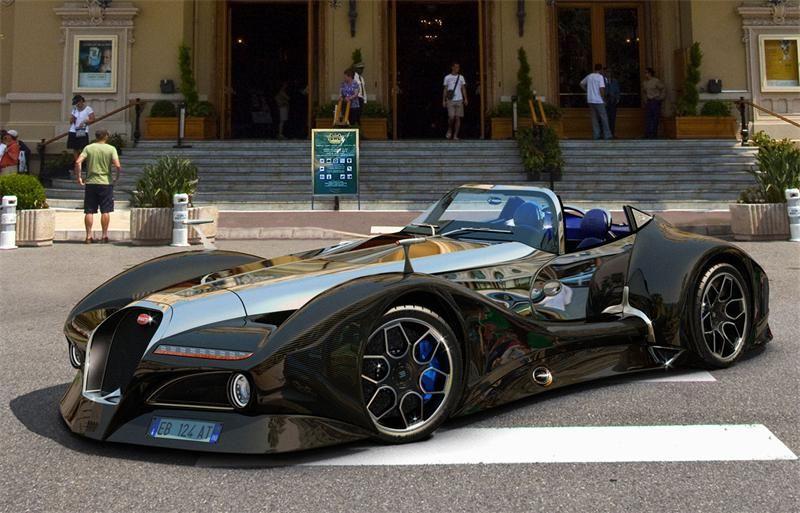 Bugatti 12.4 Atlantique | Автомобили, Футуристические ...