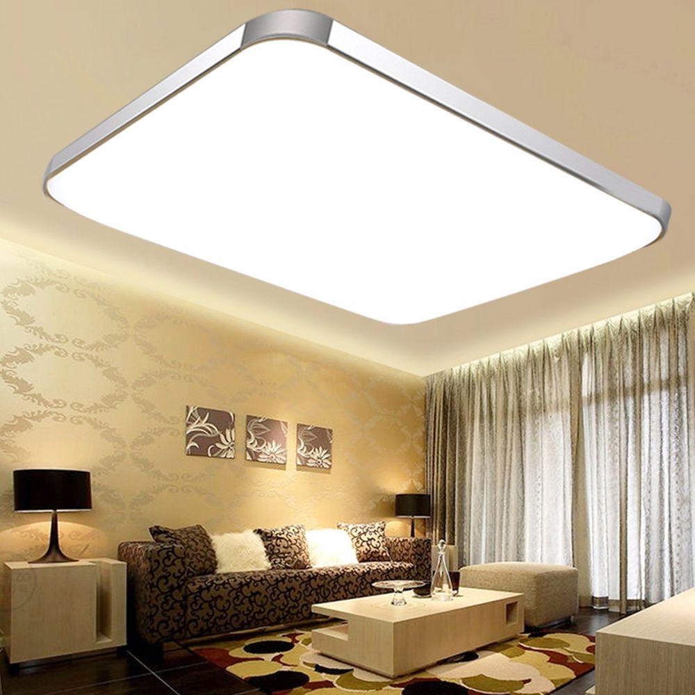 Dimmbar Deckenleuchte LED mit Fernbedienung Kche