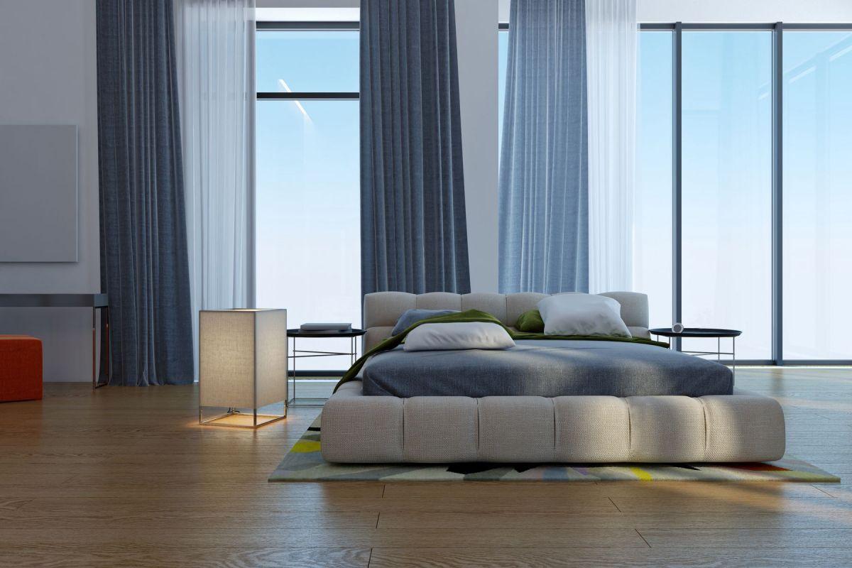 Contemporary design in hues of blue - homeyou ideas #bedroom #interiordesign #homedecor