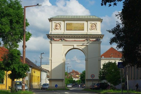 The unknown Hungarian triumphal arch ‹ Daily News Hungary