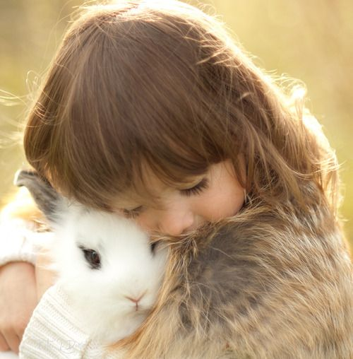 """""""When she was small, she used to tell us that bunnies hid the easter eggs, because they wanted us to see how colorful and lovely our lives could be if we would look hard enough."""""""