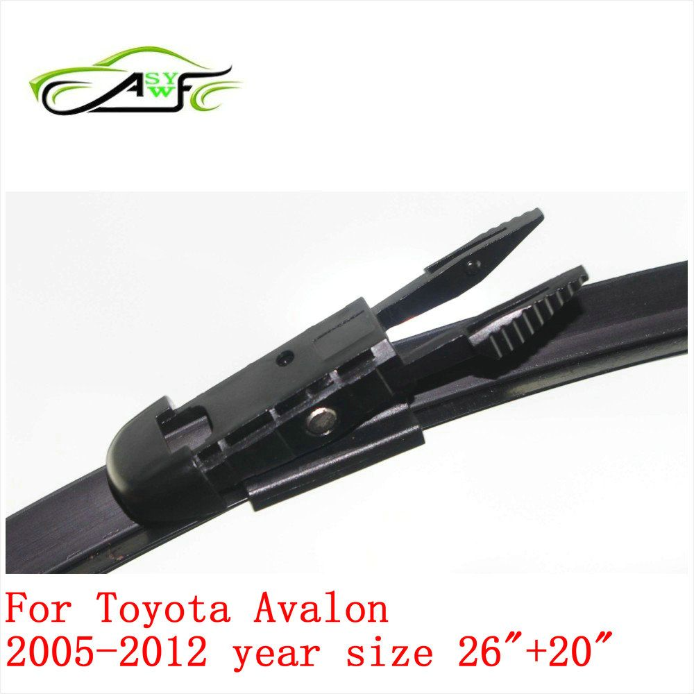 Free shipping car wiper blade for toyota avalon 2005 2012 26