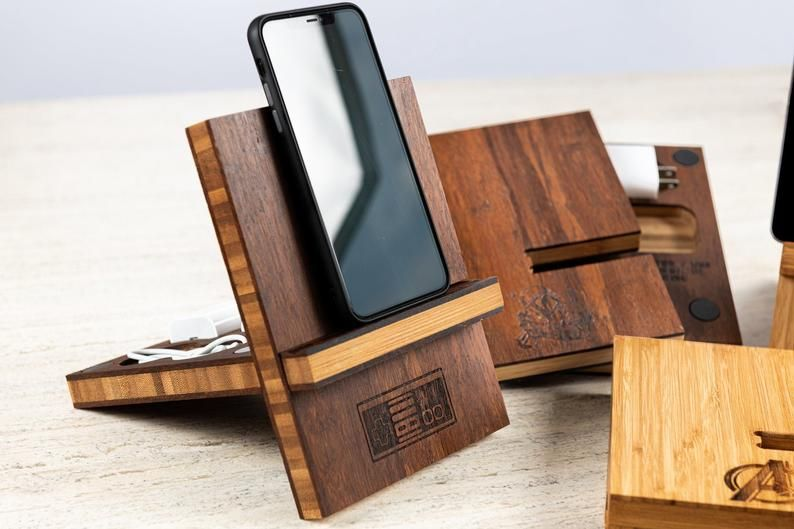 Gamer Inspired TidyTravel Magnetic Stand Personalized Phone or Tablet Dock